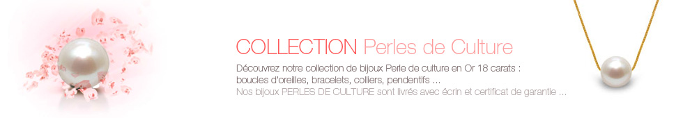 bijoux collection perles culture