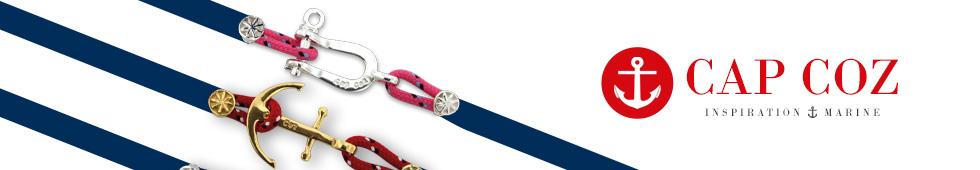 Bracelets nautiques CAP COZ fabriqués en France