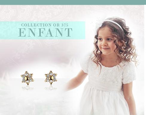 COLLECTION ENFANT :: Boucles d'oreilles, Medaille bapteme, gourmette bébé, de nombreuses idées cadeaux bapteme