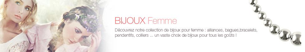 Bijoux Femme Argent fabriqués en France
