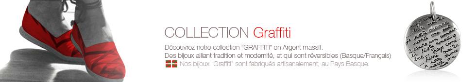 bijoux collection basque graffiti