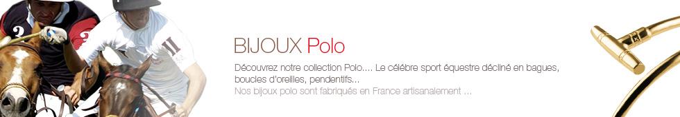bijoux thème polo