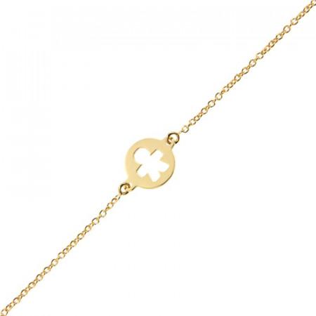Bracelet Or 375°°° PETIT GARCON (Enfant ou Femme) - 14+2cm