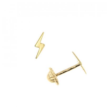 Boucles d'oreilles Or 375 °°° ROCK - Vis