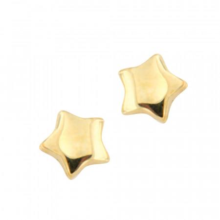 Boucles d'oreilles Or 375°°° ETOILE - VIS