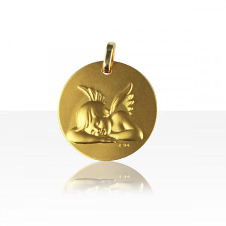 Médaille ANGE ENDORMI Or 375°°°