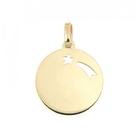 Médaille ETOILE FILANTE Or 375°°°