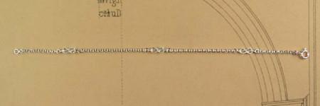 Bracelet Argent LAC D'AMOUR Chaine