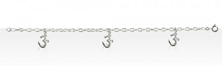 Bracelet Argent CH OVALE/3 AUM MM PP