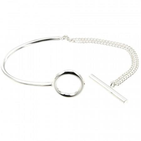 Bracelet Argent EPURE SA Barrette  FR25 - GL60 double