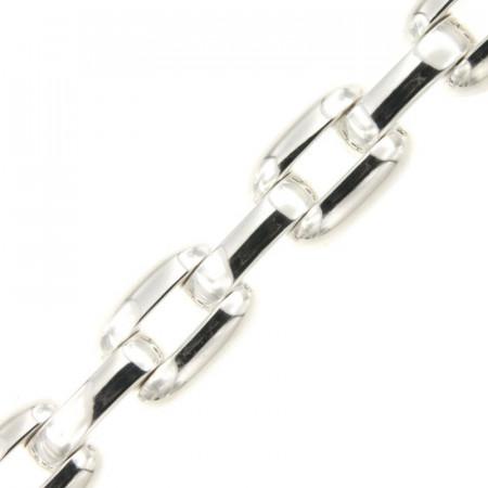 Bracelet Argent SCATOLATO 15mm - 19,5cm