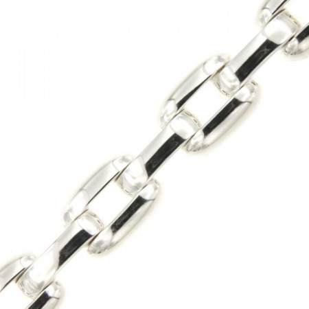 Bracelet Argent SCATOLATO 12mm - 19cm