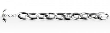 Bracelet Argent OVALE HL FERMOIR BARETTE