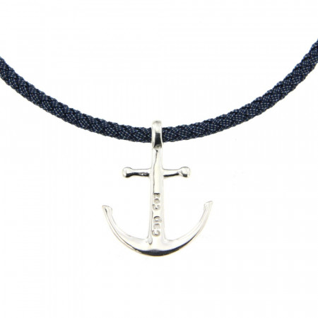 collier ancre Argent massif