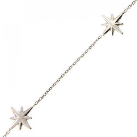 Bracelet Argent 3 ROSES des VENTS