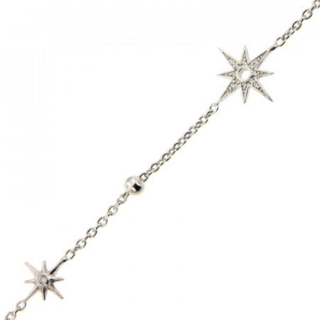 Bracelet Argent ROSE des VENTS OZ