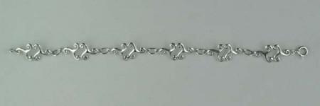 Bracelet Argent TRISKELL DOUBLE GM
