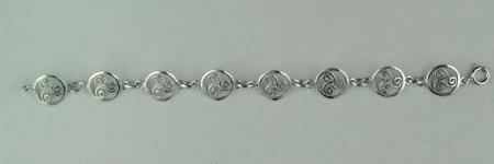 Bracelet Argent TRISKELL ENTOURAGE STYLISE/1