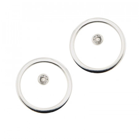 Boucles d'oreilles Argent Cercle / PP OZ