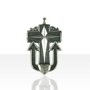 Croix Argent DES MARINS