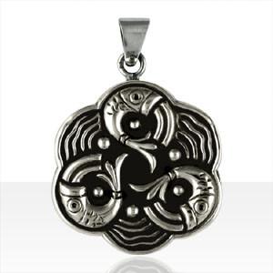 Médaille Argent POISSONS TRISKELL