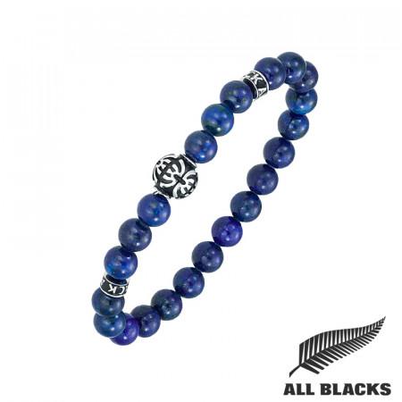 Bracelet TIBETAIN LAPIS LAZULI ALL BLACKS
