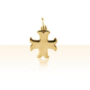 Pendentif Or 18K CROIX CATHARE MM