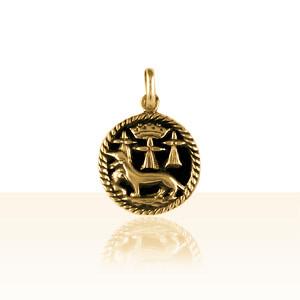 Médaille Or HERMINE/DUCHE DE BRETAGNE