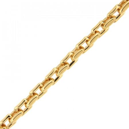 Bracelet Plaqué Or FORCAT RECTANGLE 19cm