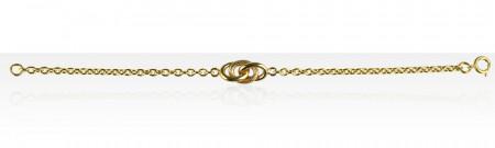 Bracelet Plaqué Or ESCLAVE GM
