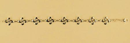 Bracelet Plaqué Or 8 CB M2