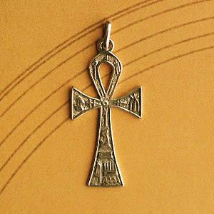 Croix Plaqué Or DE VIE D'ORIENT