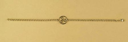 Bracelet Plaqué Or ROLO35 TRISKELL ENT/PLAT2