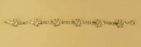 Bracelet Plaqué Or TRISKELL DOUBLE GM