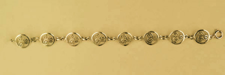 Bracelet Plaqué Or TRISKELL ENTOURAGE STYLISE /1