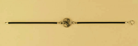 Bracelet Plaqué Or CUIR TRISKELL STYL ENTOUR/1