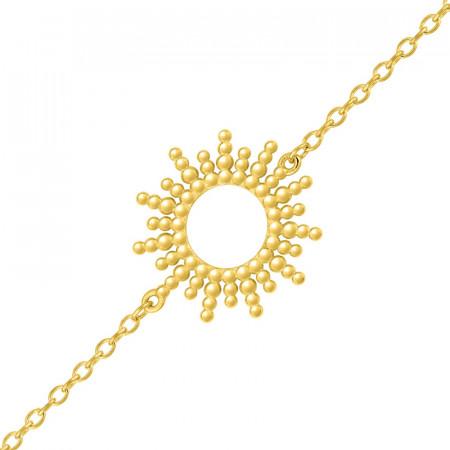 Bracelet SOLEIL PERLE ASTRE Plaqué Or
