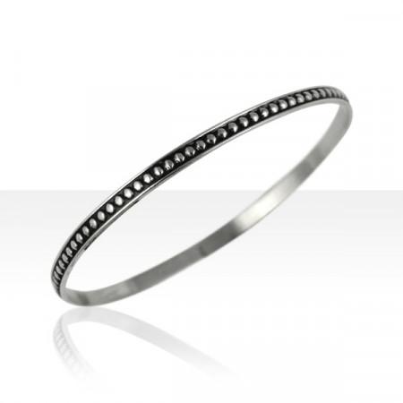 Bracelet Argent BOULES PM D63