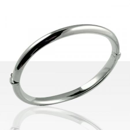 Bracelet Argent 1/2 JONC 6