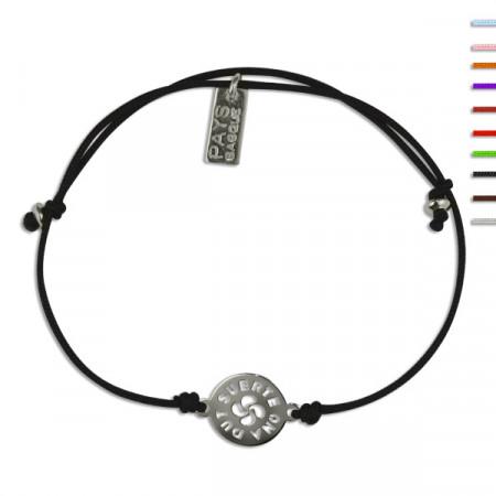 Bracelet Argent NILA LASA Suerte ajustable