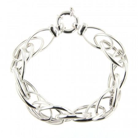 Bracelet Argent SALSA Torsade