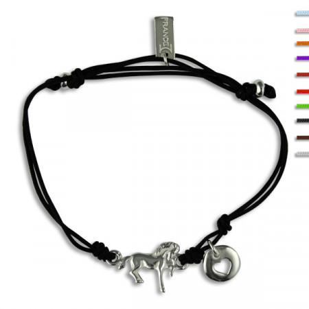 Bracelet Argent NILA EQUI poulain et coeur