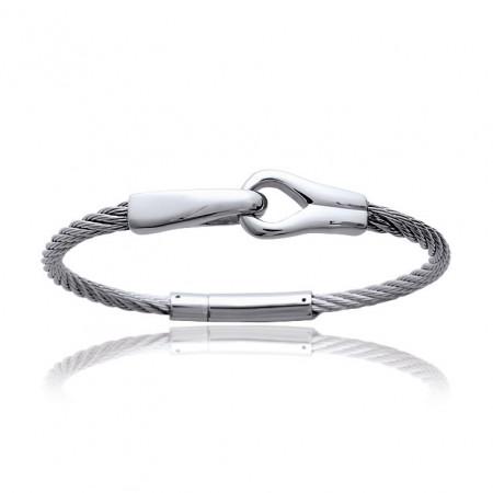 Bracelet ACIER Cable Lien