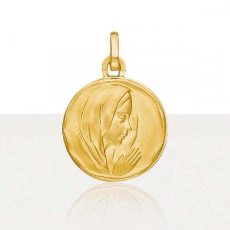 Médaille VIERGE Or 375°°° MARTELE