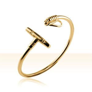 Bracelet Plaqué Or JONC POLO SIMPLE