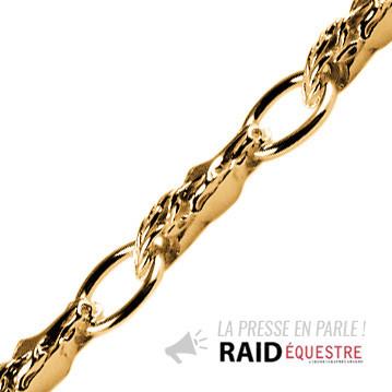 Bracelet Plaqué Or TETES ANNEAUX GM SUITE