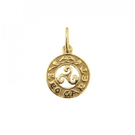 Médaille Plaqué Or BRO GARET
