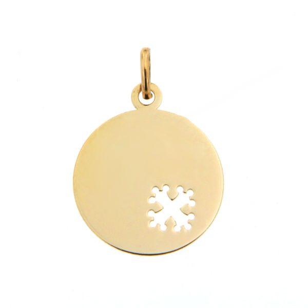 Top Baptême occitan | Médaille bébé Or 375°°° CROIX OCCITANE | BIJOUX  RA75