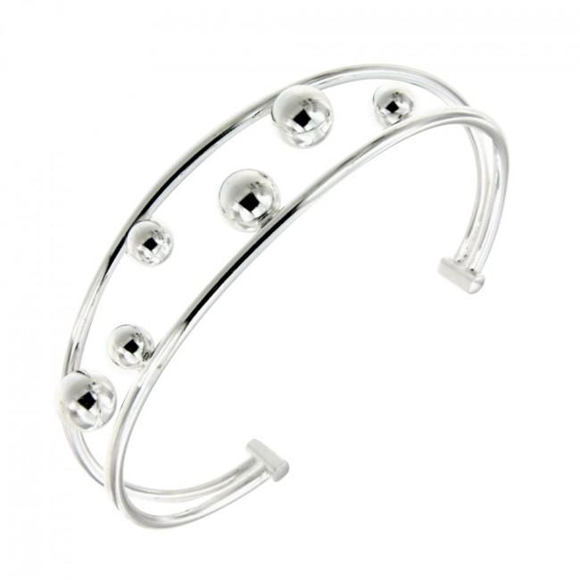 bracelet argent esclave