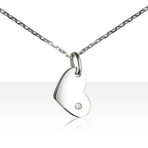 collier argent pendants